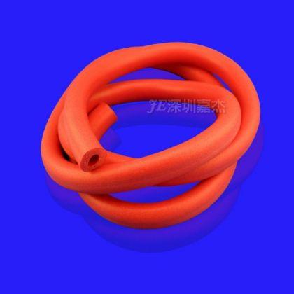 紅色(se) (gui)膠發泡管